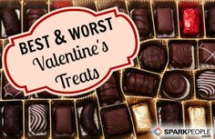 How Many Calories Are in Your Favorite Valentine's Treats? Stay on track with your healthy diet (and still celebrate) with this handy guide. | via @SparkPeople #food #dessert #candy #sweet #chocolate valentine treats, valentin treat, diet, food