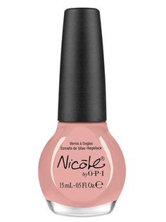 Peachy Nude  Nicole by OPI Nail Lacquer in Paparazzi Don't Preach,