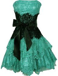 my 3 favorite things.. cute dress, lace, and teal!!