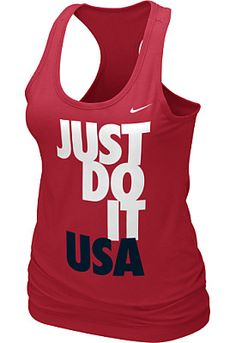 Nike Team USA 2012 Olympics Women's Racerback Tank