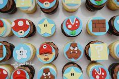 Mario Brothers Cupcakes...