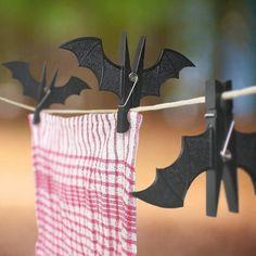 Batman Laundry Clothespins #love #geekery
