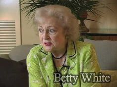 Betty White - from pet talk show host in the 70's to trustee on board of Morris Animal Foundation for over 40 years, always a friend to dogs was honored by the Morris Animal Foundation for a lifetime of achievement :)