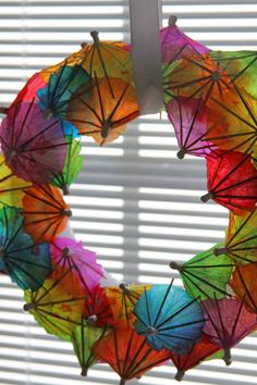 Summer party wreath!