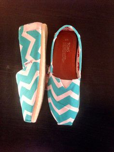 Hey, I found this really awesome Etsy listing at https://www.etsy.com/listing/168958206/mint-chevron-toms-women