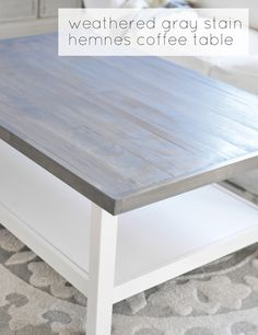 wood top with weathe