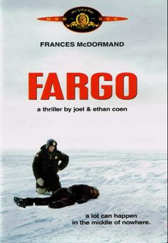 """""""Fargo"""" Directed by the Coen brothers #film #dark #comedy #crime #drama"""
