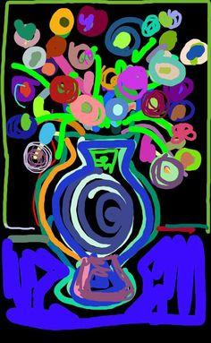 artpad flower, flower bouquets