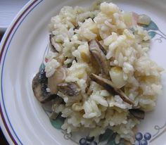 Crock Pot Risotto with Mushrooms