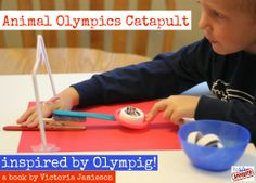 Storybook Summer: Olympig! with Toddler Approved | Make and Takes