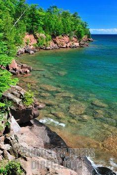 Madeline Island~Apostle Islands (Lake Superior) off the coast of Wisconsin