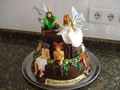 Midsummer Nights Dream cake