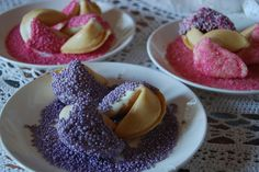 decorated fortune cookies