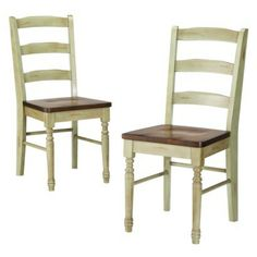 Solid Wood Chair - Set of 2 $189