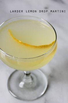 Larder Lemon Drop Martini || Autumn Makes & Does
