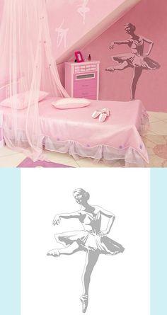 Ballerina - Sudden Shadows Wall Decals
