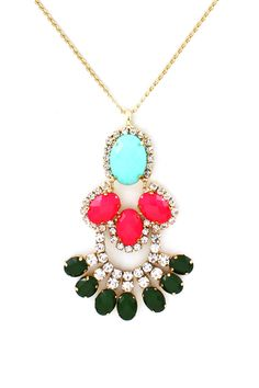 cabochon necklace <3