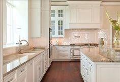 Fresh White Kitchen .