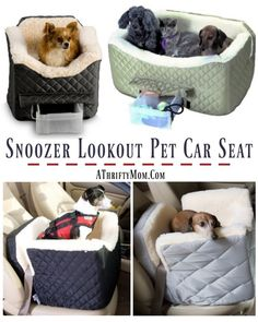 Pet car seat, Snooze