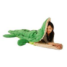 Alligator Sleeping Bag. idea, stuff, sleep bag, sleeping bags, babi, pallig sleep, fun, thing, kid