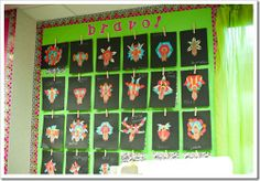 Cute art activity to emphasize symmetry!
