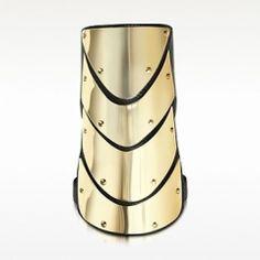 GIUSEPPE ZANOTTI / Brass and Nappa Leather Cuff Bracelet