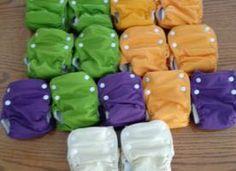 FOR SALE: 15 Small Dream-Eze Organic AIOs | Cloth Diaper Trader