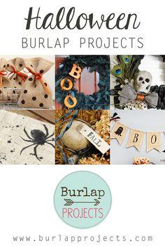 Halloween Burlap Projects