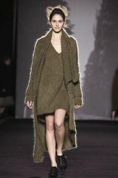 deep knit, milan fashion, wang readi, grey, winter 2014