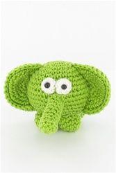 free pattern crochet elephant