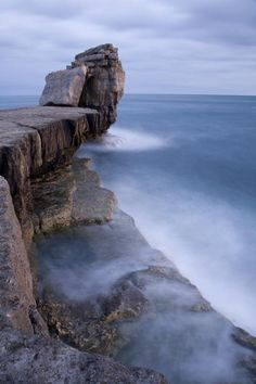 ✮ Pulpit rock at Portland Bill, near Weymouth, Jurassic Coast, Dorset, England