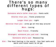 :] hug someone today