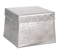 Metalen Opbergdoos met Print Set van 2 €10,99 - Leenbakker | Metal Storage Box with print|
