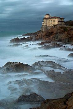 Calafuria, coast of Livorno, Tuscany, Italy
