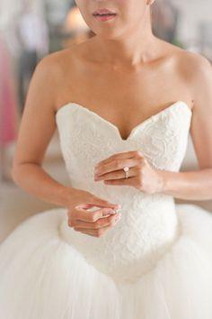 Wedding Dress: Vera Wang