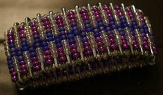 Safety pin beaded bracelet on Etsy, $8.00