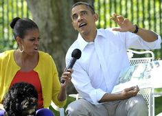 Essentially the greatest photo of Barack Obama ever.