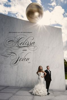WedLuxe: gorgeous #ottawa couple captured by Miv Photography