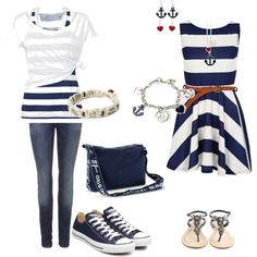 Navy Blue outfits on polyvore