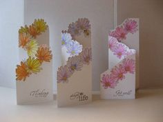 Bloomin' Tri-Fold Card for Spring by MandyB - Cards and Paper Crafts at Splitcoaststampers