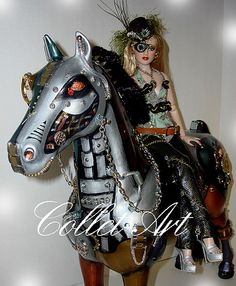 2012 OOAK STEAMPUNK DOLL