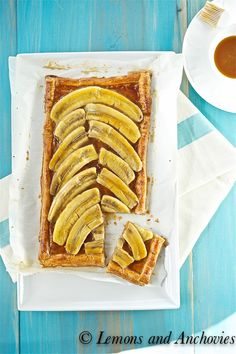 Banana Caramel Tart via @Jean | Lemons and Anchovies
