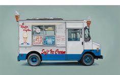 Van Painting Series By Kevin Cyr