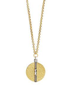 Crystal Token Necklace, Necklaces - Silpada Designs