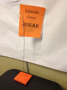 Stations for the Spanish class