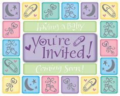 "These deluxe invitations are accessorized with a stick-on ""You're Invited!"" accent card, and they match the Coming Soon theme. Easy fill-in cards come in quantities of 8 with envelopes."