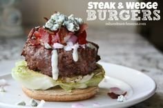 Steak & Wedge Burger