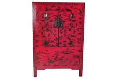 Chinese Hand-Painted Armoire on OneKingsLane.com