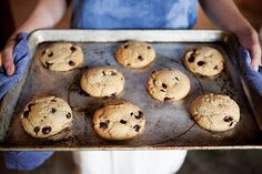 Bake a Batch of (Secretly Vegan) Salted Chocolate Chip Cookies #NationalDessertDay