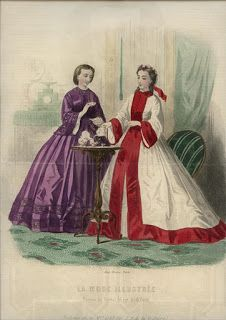La Modes Illustree, January 1862